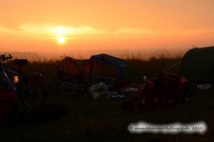 Der erste sonnige Morgen