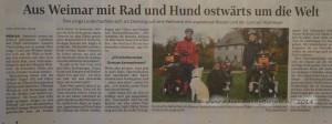 TLZ Zeitungsbeitrag von 05.11.2014